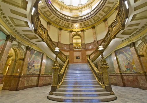 Capital Lobby Stairs 2